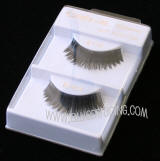 Creme false eyelashes, Upper lashes, Wholesale only, #119, Distributed by allied trading, Los Angeles, CA 90057