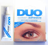 duo eyelash adhesive, clear