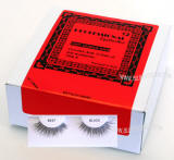 Eyelashes for beauty supplies, 1 dz pack, human hair eyelashes 12 units pack.