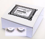 Eyelashes for beauty supply, 1 dz pack, human hair eyelashes 12 units pack.