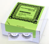 Human hair eyelashes, Item # BEK68, 1 dozen pack, cheapest price.