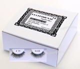 Professional eyelashes, 12 eyelashes pack.