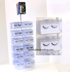 eyelash rack, eyelash plastic case rack