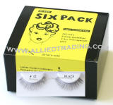 Six pack strip lashes in bulk, Style # BEM12, wholesale bulk eyelashes, natural false eyelashes, sold in 6 pack, 3 1cc mini eyelash glue included