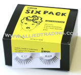 Six pack strip lashes in bulk, Style # BEM13, wholesale bulk eyelashes, natural false eyelashes, sold in pack