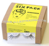 Item # BEM307GR, Bulk eyelashes, Wholesale false eyelashes, 6 pack eyelashes in bulk, wholesale eyelash extensions, sold in pack quantities