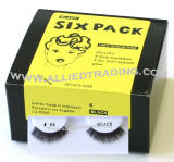 Style # 66, false eyelashes 6 pack in bulk, wholesale eyelash extensions, upper lashes, sold in pack quantity, natural eyelashes