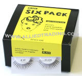Style # 68, false eyelashes 6 pack in bulk, wholesale eyelash extensions, upper lashes, sold in pack quantity, natural eyelashes