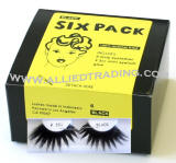 Drag queen eyelashes, longest thickest eyelashes, False eyelash extensions, 6 pack bulk eyelashes, item # BEMTL301, upper eyelashes, wholesale strip eyelashes, sold in pack quantities