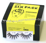 Longest & thickest eyelashes, False eyelash extensions, 6 pack bulk eyelashes, item # BEMTL302, upper eyelashes, wholesale strip eyelashes, sold in pack quantities, eyelash wholesaler allied trading, los angeles, ca 90057 united states