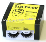 Longest and thickest eyelashes, False eyelash extensions, 6 pack bulk eyelashes, item # BEMTL304, upper eyelashes, wholesale strip eyelashes, sold in pack quantities, eyelash wholesaler allied trading, los angeles, ca 90057 united states