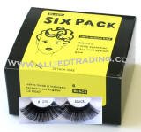 Longest and thickest eyelashes, False eyelash extensions, 6 pack bulk eyelashes, item # BEMTL370, upper eyelashes, wholesale strip eyelashes, sold in pack quantities