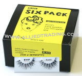Wispy Type 2. wispies, wispy eyelashes, 6 pack bulk eyelashes, item # BEMWSPTP2, human hair eyelashes, upper eyelashes, wholesale strip eyelashes, sold in pack quantities