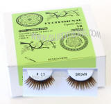 Brown false lashes, ITEM # 15, Elegant brown lashes.