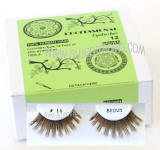 ITEM # BEK16BR, Brown false lashes, Elegant look brown lashes