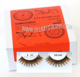 # BEK30BR, Brown false eyelashes,