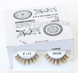 # 415 brown eyelashes, bulk brown elashes, Human hair. Wholesale distributor, Allied Trading