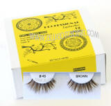 Elegant look brown false lashes, Natural hair, Cheap & reliable