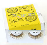 Elegant look brown false lashes, Natural hair, Cheap & reliable.  Wholesale distributor,  Allied Trading