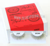 Wholesale brown eyelash extensions, bulk brown eyelash extension, Human hair. Wholesale distributor, Allied Trading, Los Angeles, CA 90057