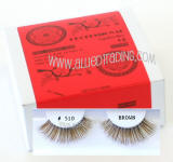 Wholesale brown eyelash extensions, bulk brown eyelash extension, Human hair.