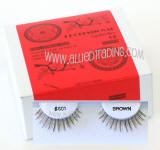 Wholesale brown eyelash extension, # 601 brown, Reliable & elegant, Human hair.