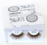 Wholesale false eyelashes, Brown color, Look fabulous, Cheap & reliable. Wholesale distributor, Allied Trading