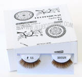 Wholesale false eyelashes, Brown color, Look fabulous, Cheap & reliable.