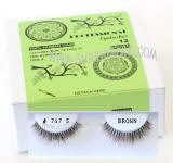 # 747 short bulk brown eyelashes, Wholesale brown false eyelashes, Reliable & elegant, Human hair. Wholesale distributor, Allied Trading, Los Angeles, CA 90057