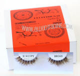 Brown d wispies eyelashers, dw lashes, bulk brown eyelashes,