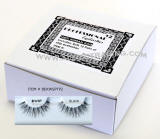 Wispy Type 2. wispies, wispy eyelashes, 12 pack bulk eyelashes, item # BEKWSPTP2, human hair eyelashes, upper eyelashes, wholesale strip eyelashes, sold in 12 pack quantities