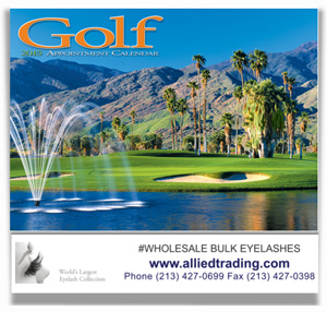 2015 Allied Trading GOLF CALENDAR