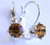 6 Prong Austrian Crystal Leverback Earrings, www.alliedtrading.com