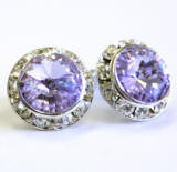 ARC26 Swarovski Clip On Earrings, 15mm, wholesale distributor, allied trading