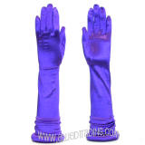 "GV12BPU, Purple 19"" Long Opera Gloves."