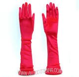 Red Color. 12BL Opera Gloves